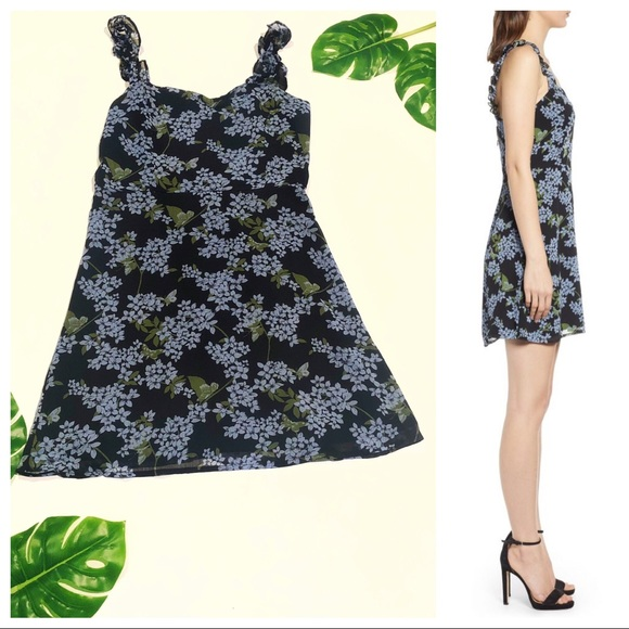 Nordstrom Dresses & Skirts - All in favor floral mini dress